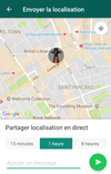 whatsapp partager sa localisation